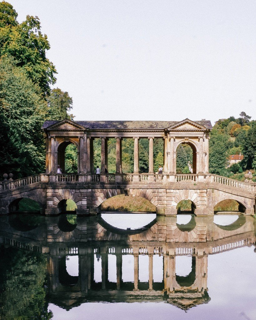 prior park bridge, National Trust property, Bath, cheap days out with kids